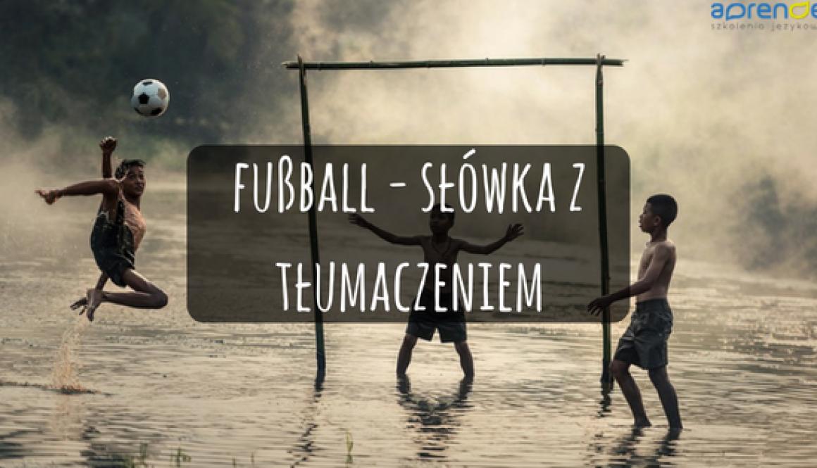 fußball - słówka z tłumaczeniem
