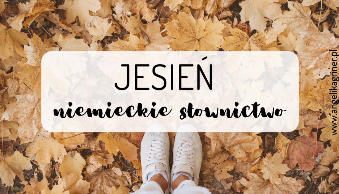 jesień - niemieckie słownictwo