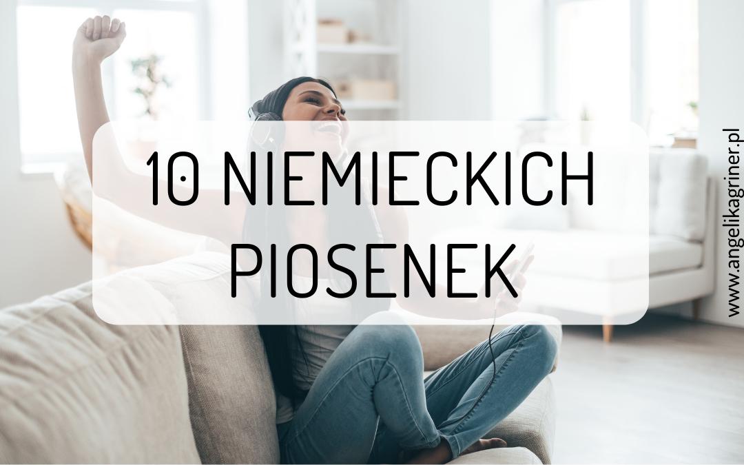 10 niemieckich piosenek