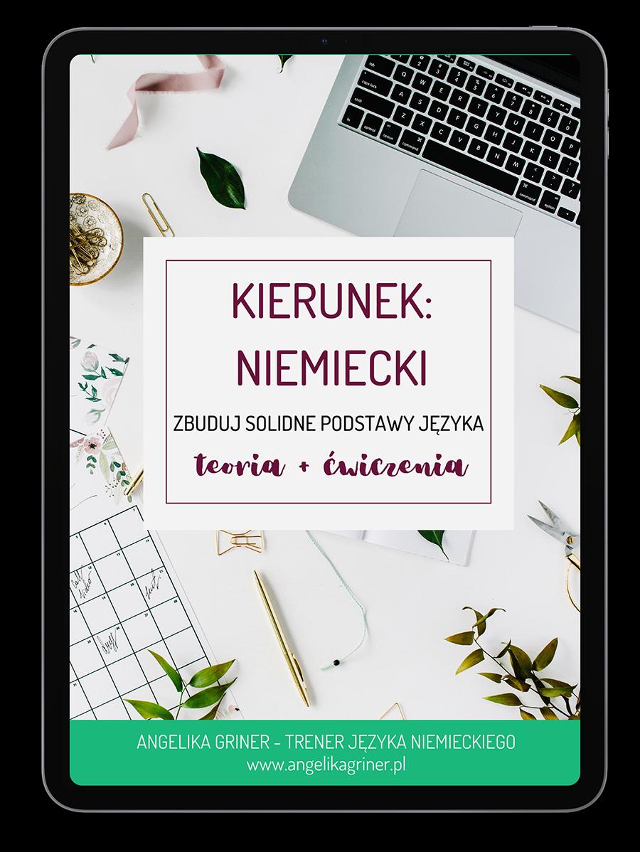 E-book Kierunek: niemiecki. Zbuduj solidne podstawy języka